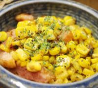 Corn Butter Bacon